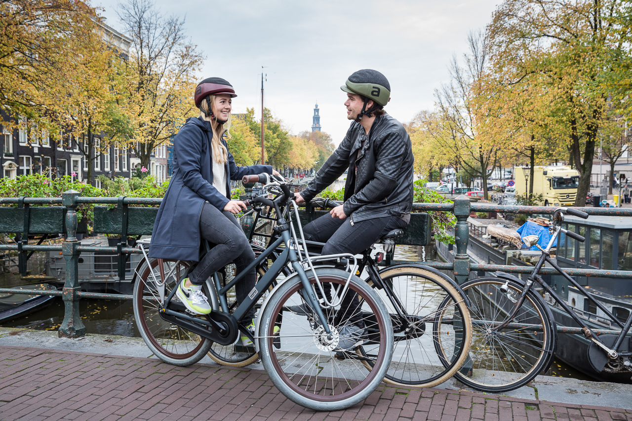 Fun With Helmets: Advertising Photo Shoot in Amsterdam