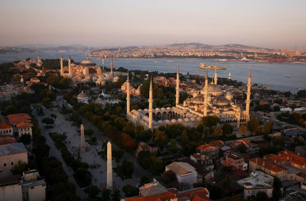 Drone Photo of Istanbul, Turkey