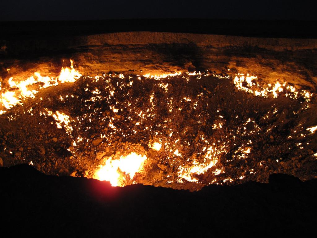 """Derweze, Turkmenistan - """"Door to Hell"""""""