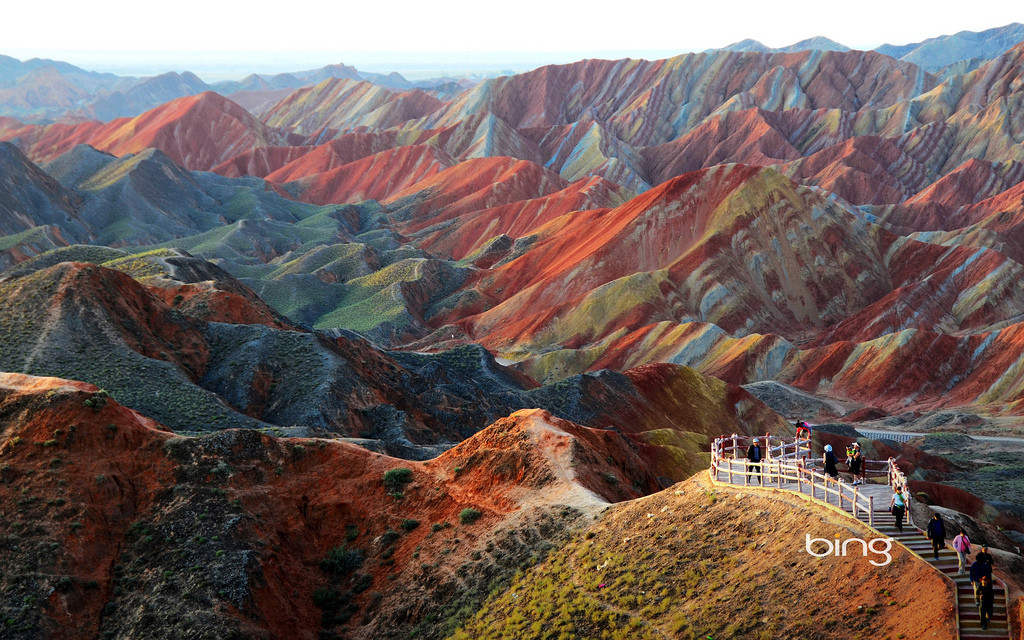 Zhangye Danxia Landform, China