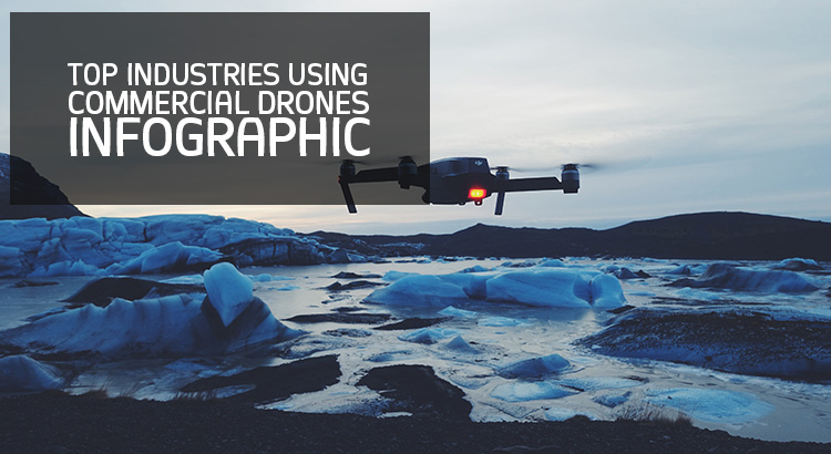 Top Industries Using Commercial Drones (Infographic)